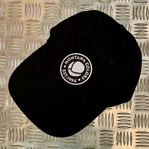 MTN-Polo-Cap-Est-1994-by-Montana-Colors-Black-with-Black-amp-White-Logo-Detail