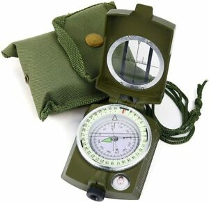 Professional Tactic Military Compass Geological For Hiking Navigation BRUJULA