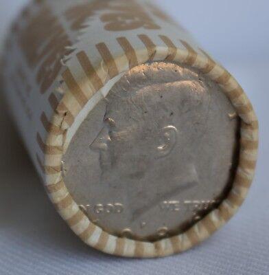 Roll 1986-D Kennedy Half Dollars. 20 Coins