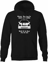 Honda Civic Street Racing Is Not A Crime - Sweatshirt