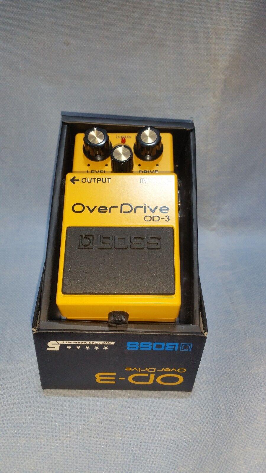 Boss Overdrive OD-3 Guitar Effect