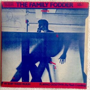 Family-Fodder-7-034-Unplayed-1979-Playing-Golf-My-baby-takes-Valium-Fresh-1