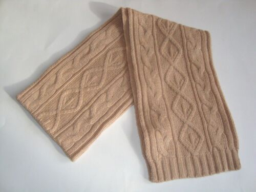 3021 Alice Hannah Lambswool Luxury Warm Chunky Cable Knit Scarf