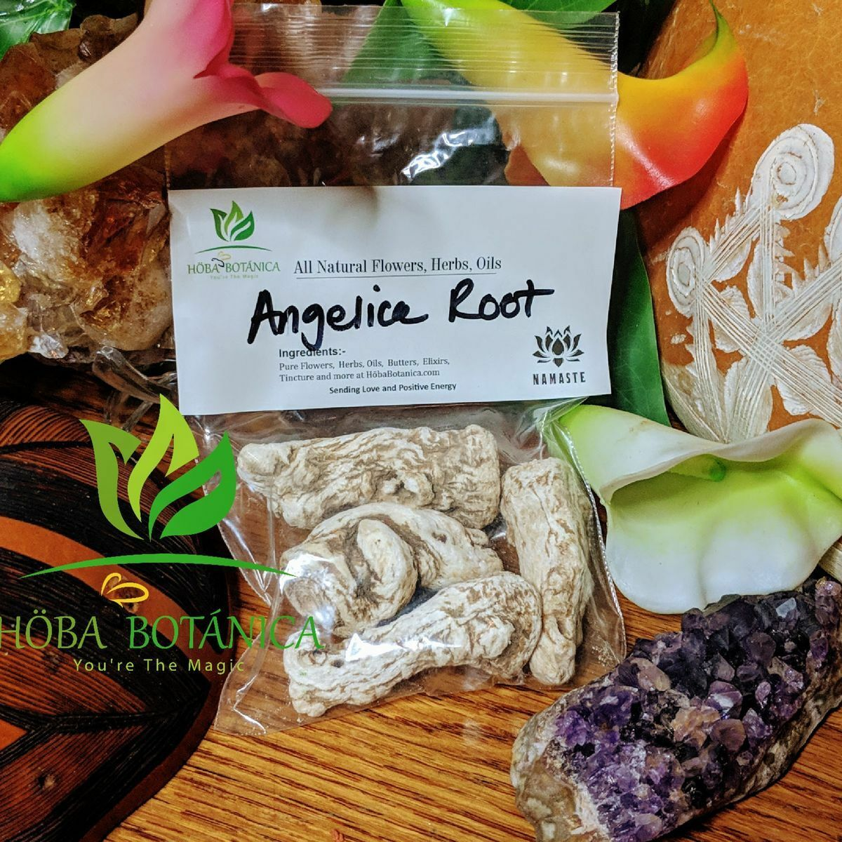 Angelic Whole Root (Organic) Magic Herb for Protection and Healing  2oz 1