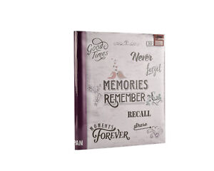Large Self Adhesive Photo Album Hold Various Sized Picture Up to A4 Purple 5060516722808