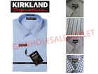 Kirkland Signature Mens Tailored Fit Non Iron Long Sleeve Dress Shirt GR20 *WOT