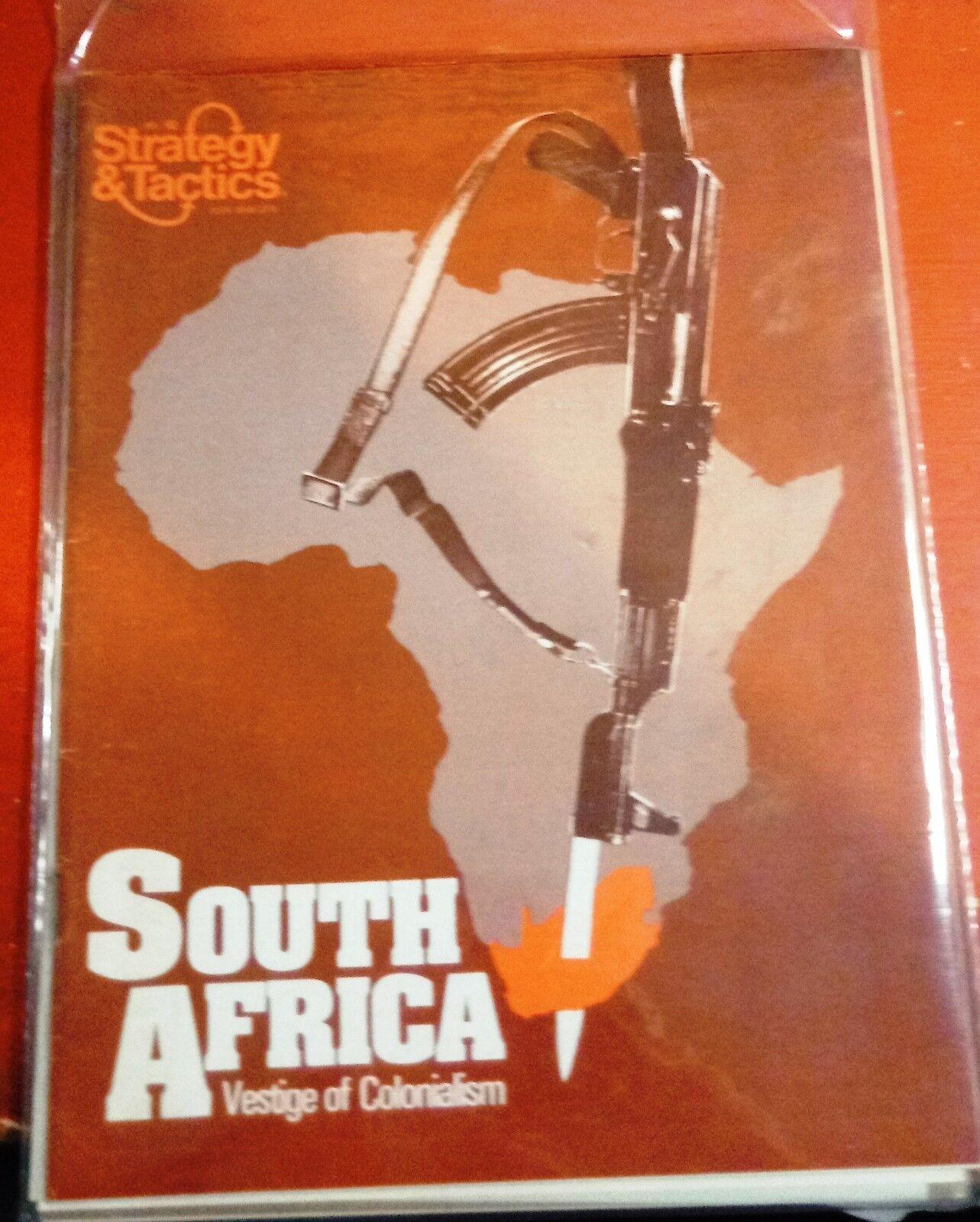 Strategie und taktik 62-south relikt des kolonialismus in afrika neue   unpunched spiel
