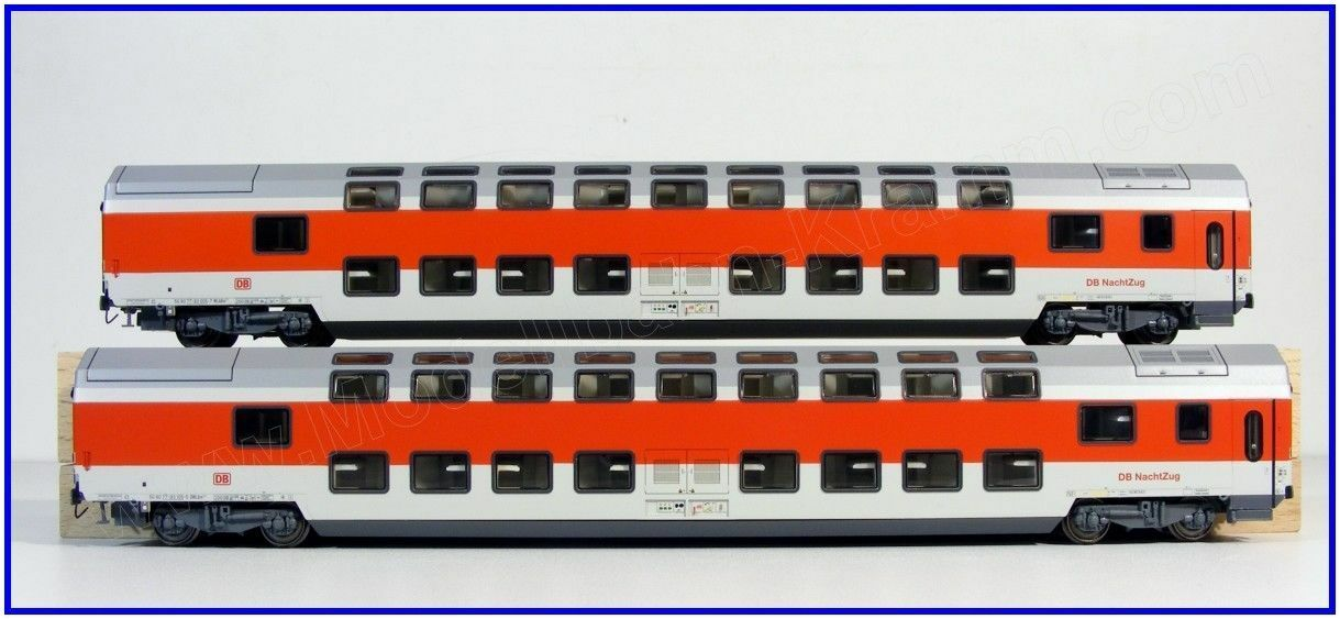 LS modelloS L.S. LSM 46030 DB AG SET 2 SCHLAFWAGEN WLABm 171 NachtZug letti OVP