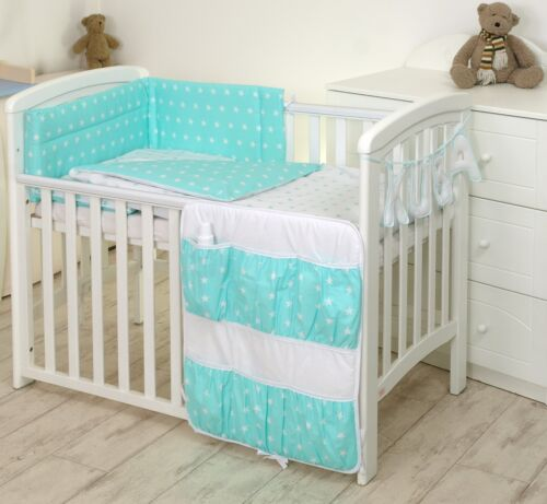 HEARTS  Baby Bedding Set fit Cot 120x60cm or Cot Bed 140x70 BABY GIRL BOY+MORE