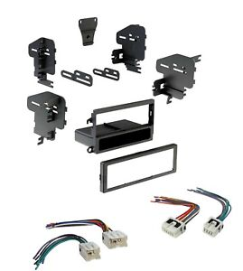 Car-Radio-Stereo-Dash-Install-Kit-with-Harness-for-Selected-1995-2004-Nissan