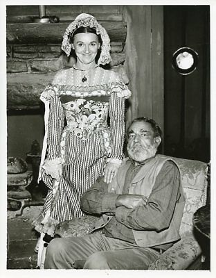 JEANETTE-NOLAN-FRANK-MCGRATH-PORTRAIT-WAGON-TRAIN-ORIGINAL-1962-ABC-TV-PHOTO
