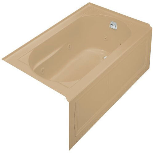 Kohler Devonshire 5 Ft. Whirlpool Tub With Integral Apron and Right ...