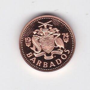 1974-Barbados-Proof-One-Cent-Coin-ex-Set-E-152