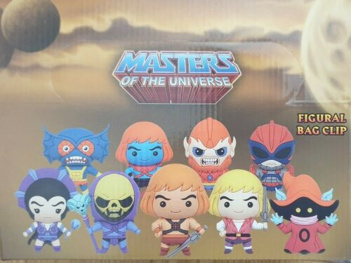 Blind-bagged bag clips Masters of the Universe Figural Bag Clip