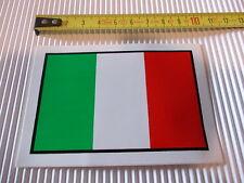 BANDIERA ITALIANA  adesivo  Auto Moto  Italian adesive  Italia flag