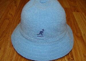 Image is loading Light-Blue-KANGOL-Bermuda-Casual-Bucket-Hat-Style- 1f47af1da31