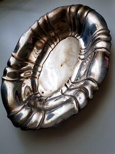 Silberschale Deko.Details Zu Vintage Silberschale Oval Versilbert 33 Cm Gebäck Schale Deko
