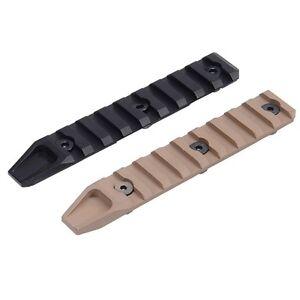 KeyMod 9 Slot Rail Picatinny Segment Aluminum Mount Adapter for URX Black Tan