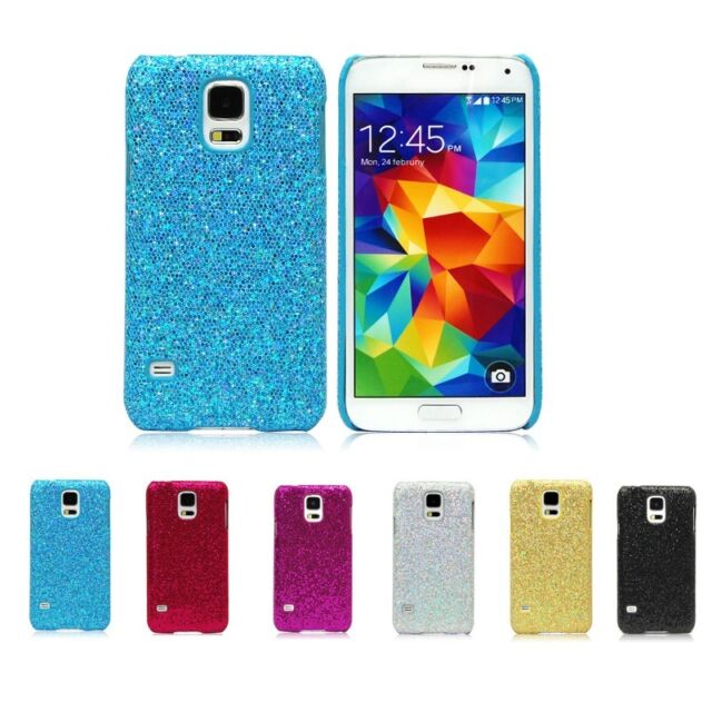 Sparkle Bling Glitter Diamond Hard Case Cover For Samsung Galaxy S5 i9600 G900
