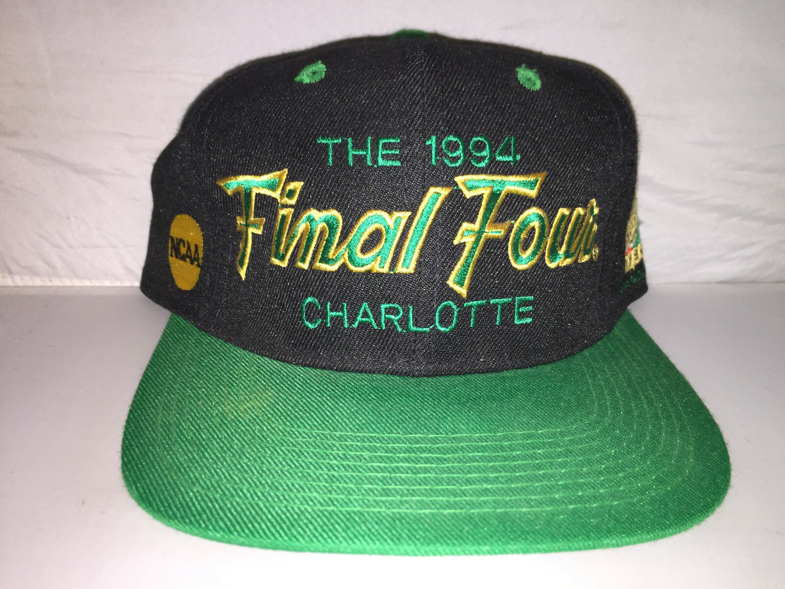 Vtg 1994 Final Four Script Script Script Sports Specialties College Basketball Fitted hat cap b14474