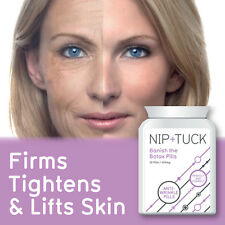 NIP & TUCK BANISH THE BOTOX PILLS ANTI WRINKLE PILLS ANTI AGEING PLUMPS SKIN FAS