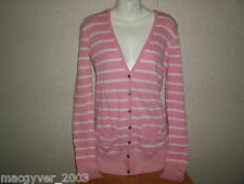 victoria's secret pink long sleeve hooded cardigan sweater siz m