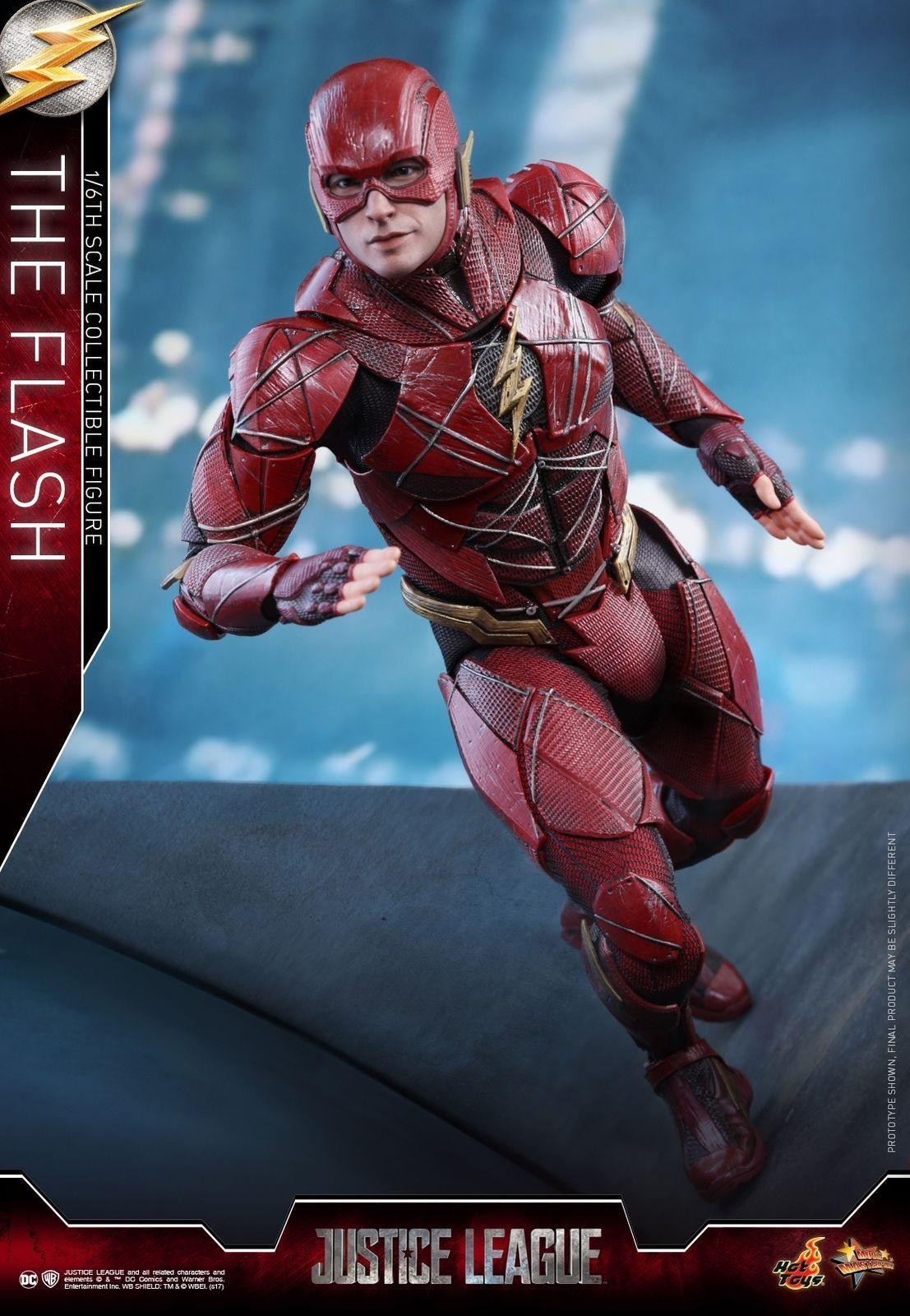 Hot Toys Liga De La Justicia 16th Escala Figura De Colección El Flash MMS448