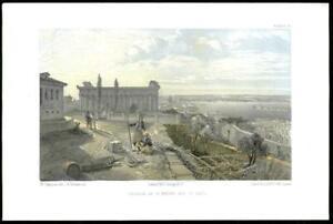 1855-Original-Antique-Print-CRIMEA-WAR-Istanbul-St-Peter-amp-St-Paul-Church-37