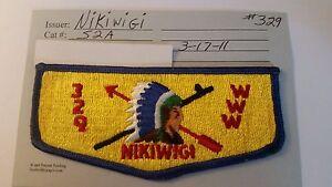 OA Nikiwigi Lodge 329 S2A Flap