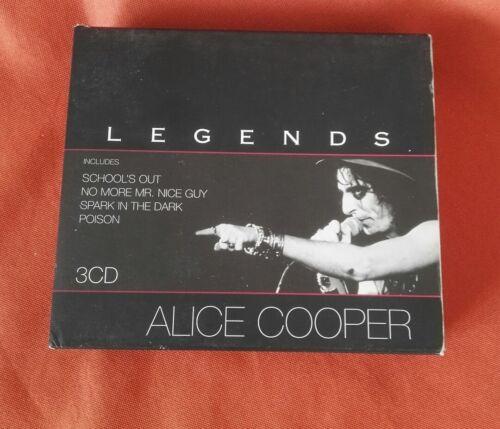 1 von 1 - ALICE COOPER - Legends / 3-CDs BOX