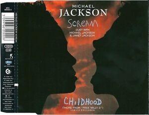 Michael-Jackson-scream-Childhood-5-tracks-1995-amp-Janet-Jackson-Maxi-CD