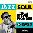 Jazz Soul of Little Stevie/Tribute to Uncle Ray by Stevie Wonder (CD, May-2013, Soul Jam)
