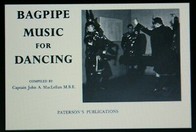 Maclellan Dudelsack Music For Dancing Buch Für Highland Pfeifen Und Tanz GläNzend