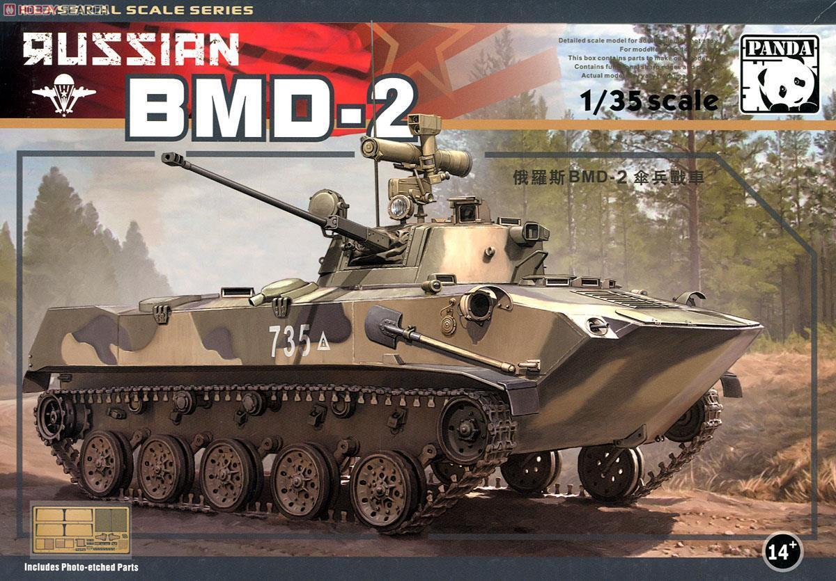 Véhicule blindé Soviétique BMD-2, 1995 - KIT PANDA HOBBY 1 35 n° 35009