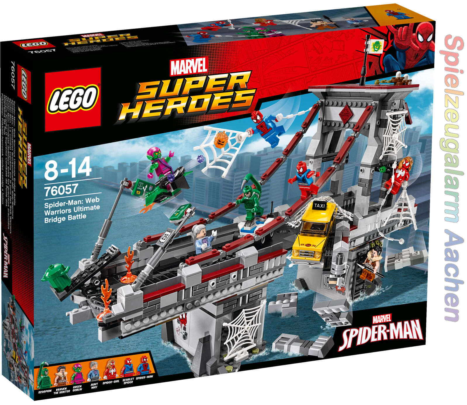 LEGO LEGO LEGO Marvel Super Heroes 76057 Spider Man Ultimatives Brückenduell N6 16 b49e6f