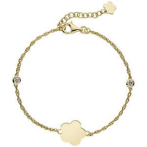 1-8mm-Armband-Armkette-Blume-weisse-Zirkonia-925-Silber-gelbvergoldet-18-22cm