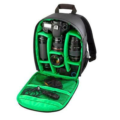 Waterproof DSLR Camera Lens Backpack Case Bag for Canon for Nikon for Sony