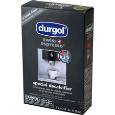 2 Pack Durgol Swiss Espresso Special Decalcifier Solution for All Coffee Machine
