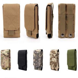 Universel Molle Armée Tactique Téléphone Portable Smartphone Ceinture Pochette Housse étui sac