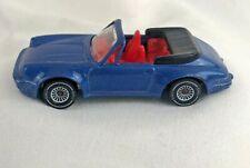 Siku Suoer 1523 Porsche 911 Turbo S Cabriolet dunkel-miami blue