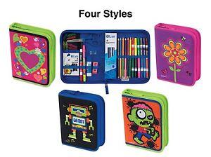 Kids Art Kit Set Craft Toy Supplies Case Gift Drawing Coloring Pencil Boys Girls