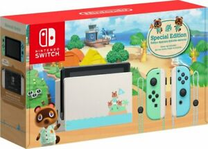 Brand New Nintendo Switch - Animal Crossing: New Horizons Edition 32GB Console