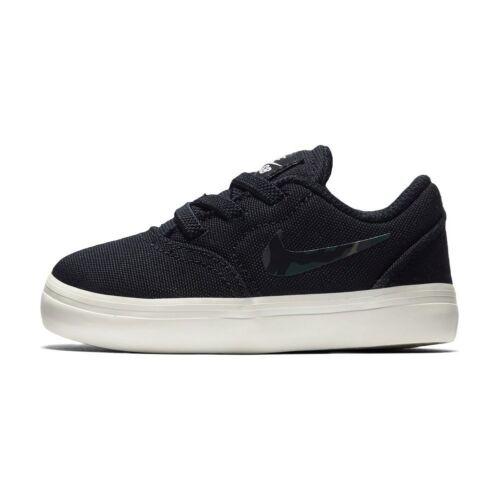 Td Nike Sb Check Cnvs Shoes Black Kids