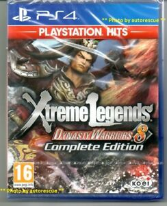 Dynasty-Warriors-8-Xtreme-Legends-Complete-Edition-039-New-amp-Sealed-039-PS4-Four