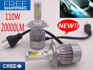 H4-9003-LED-Lampadine-Lampade-Faro-Luci-CREE-110W-20000LM-Headlights-Bulb-6000K
