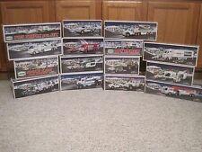 Lot of 15 Hess Trucks 2000 to 2014