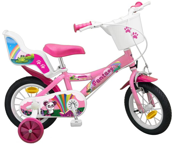 12 ZOLL 12  Kinderfahrrad Mädchenfahrrad Kinder Kinderrad Fahrrad Rad Bike Rosa