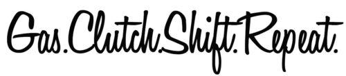 Repeat Gas Clutch Shift Car//Truck//SUV//Van Bumper Window Sticker Decal Vinyl