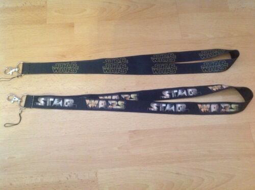 2 X STAR WARS STYLE  Cell Phone Key Chain Neck Strap Keys Lanyards  gift