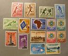 """ITALIA ITALY1952-59 A.F.I.S. Somalia """".Lotto Vario di 16 Valori """" Tutti MNH**"""